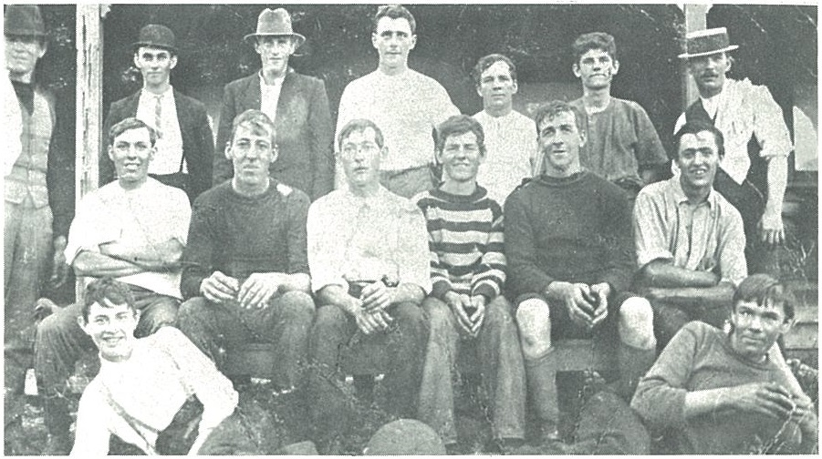 Early Spearwood soccer team, 1914