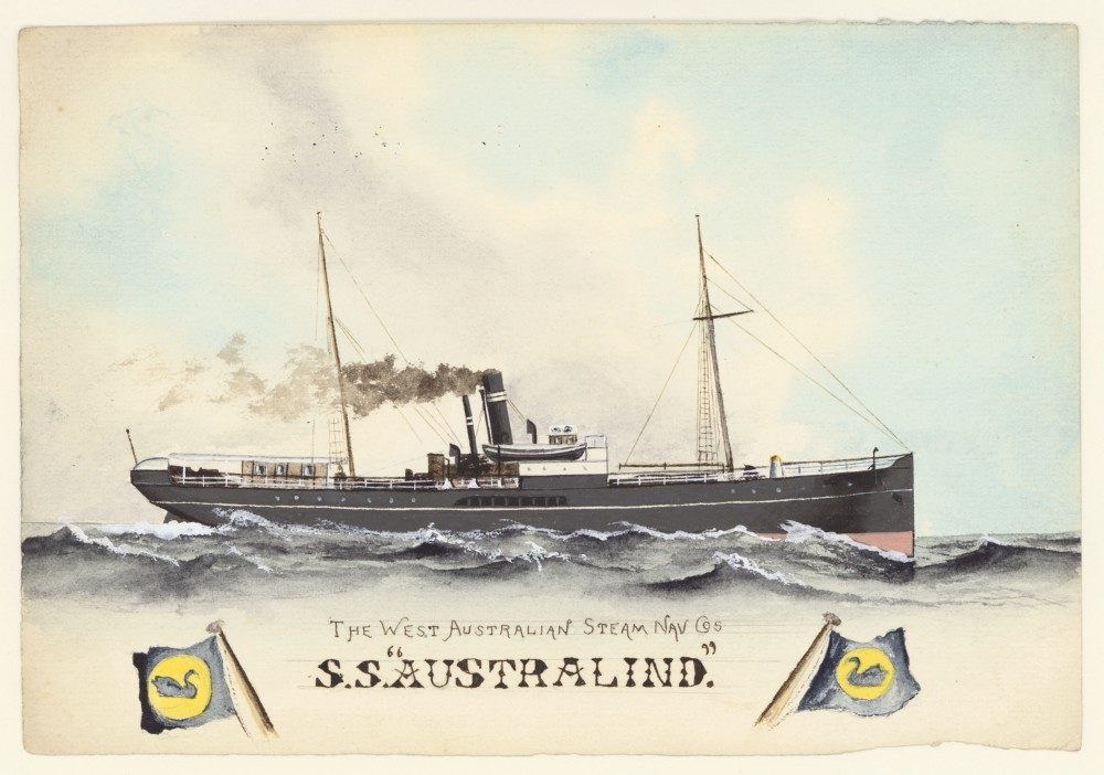 S.S. Australind of The West Australian Steam Nav. Co / Allan C. Green